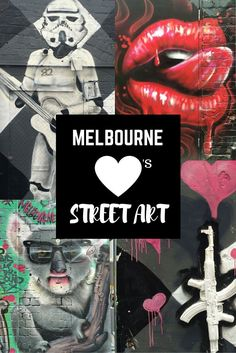 Melbourne Loves Street Art! Join me on a walking tour of Melbourne's famous laneways and discover some of the best street art Melbourne has to offer!