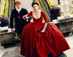 'Outlander': 5 Burning Questions Going Into Season 2 The epic time-traveling series returns April 9 on Starz -- Sam Heughan as Jamie Fraser and Caitriona Balfe as Claire Fraser in 'Outlander' Season Claire Fraser, Jamie Fraser, Outlander Premiere, Outlander Season 2, Outlander Tv, Outlander Series, Starz Series, Diana Gabaldon, High Society