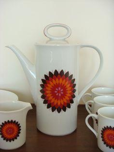 Mid Century Eschenbach China Tea or Coffee Serving Set