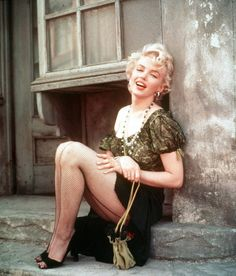 "Marilyn Monroe ~ from the film ""Bus Stop"""