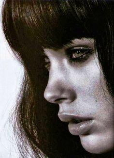 Brunette close up- erika boveri- girls- cute- love- photo- models- Long Hair Styles ♥ | Makeup | Hair Color | Hair Extensions | Beautiful Women | Glamour Models | Best Beauty Salons | Celebrity Fashion | brunette Models | Erika Boveri | retro Models | #erikaboveri