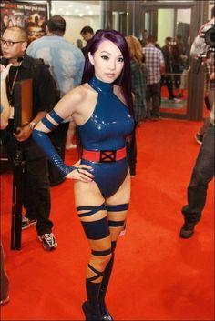 betsy braddock psylocke  cosplay by asian-american linda le 3