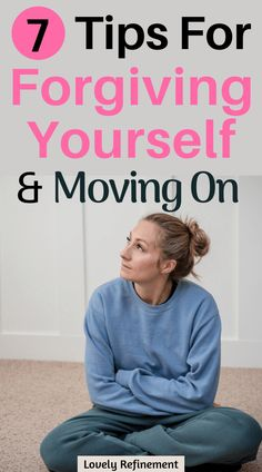 7 Tips for Forgiving Yourself & Moving on. Learn how to forgive and forget in 7 simple ways. Learning to forgive your past mistakes allows you to move on and live a more positive life. Positive Mindset, Positive Life, Quotes Positive, Forgive And Forget, How To Forgive, Forgiving Yourself, How To Love Yourself, Learning To Love Yourself, Anxiety Tips