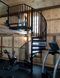 The Latest Photos And Images Of Metal Spiral Staircases And Stairs Built By  The Iron Shop