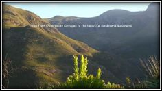 oesmanskloof - McGregor Accommodation - Eagle's Nest House and Onverwacht Cottages Accommodation are situated in the Riviersonderend mountains on the cliffs at the popular Greyton McGregor Hiking Trail Eagle Nest, Mountain View, Hiking Trails, Eagles, Flora, Farmhouse, Cottage, Mountains, Beautiful