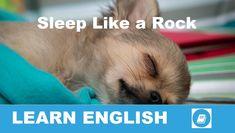 Angol kifejezések egy percben videó lecke. Nézzük meg, mit jelent ez az angol kifejezés: Sleep Like a Rock, és hogyan használjuk a hétköznapi angol beszédben.