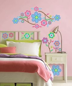 Take a look at this Cute Bloom Wall Decal Set by WallPops! on #zulily today!