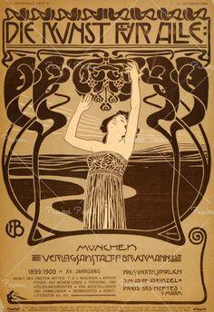 koloman moser poster art 1914