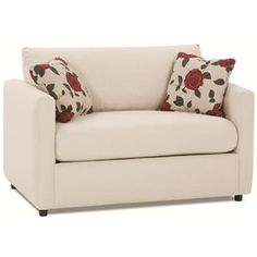 Rowe Stockdale Contemporary  Twin Sleeper Chair - Baer's Furniture -