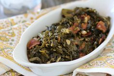 #paleomg #paleo Bacon Braised Collard Greens