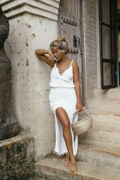 LACEY MAXI DRESS | WHITE | PRE-ORDER
