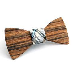 Clyde Wooden Bow Tie