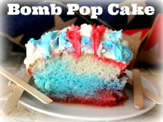 ~Bomb Pop Cake!