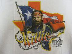 Vintage Tshirt - Willie Nelson - 1984 Tour XL - RARE  #vintage #tshirts #willienelson   $119