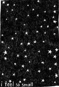under the starry sky...