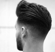 25 Amazing Mens Fade Hairstyles Page 5 of 25 Hairstyles & Haircuts for Men & Women Part 5 is part of Thick hair styles - 25 Awesome pictures of men with the fade hairstyle! Ideas for shaved sides hairstyles Part 5 Mens Hairstyles Fade, Hairstyles Haircuts, Haircuts For Men, Trendy Hairstyles, Medium Hairstyles, Modern Haircuts, Wedding Hairstyles, Classic Mens Hairstyles, 2018 Haircuts