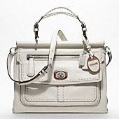 I seriously want a white bag this year. This one would do! (hint, hint)