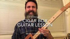 Wagon Wheel: 1 finger cigar box guitar lesson