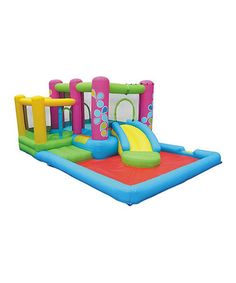Loving this Little Sprout All-in-One Bounce 'n' Slide on #zulily! #zulilyfinds