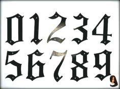 Tattoo Ideen Zahlen Make Up Trends Schriftarten 2