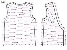 felt vest tutorial