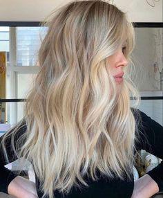Blonde Hair Looks, Brown Blonde Hair, Black Hair, Blonde Honey, Light Blonde Hair, Blond Hair Colors, Long Blond Hair, Cool Blonde Balayage, Blonde Balyage