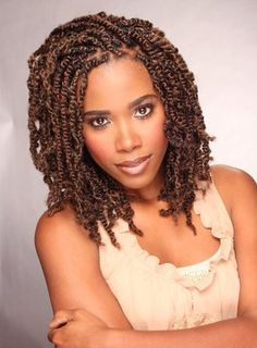Protective style two strand twists