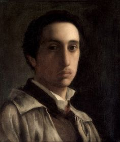 Edgar Degas · Autoritratto · 1855-56 · Metropolitan · New York