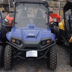 New TrailMaster Challenger 150X UTV Blue Outdoor Recreational Sporting Utility #TrailMaster