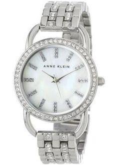 4d8e69420a8 Anne Klein Часы Anne Klein 1263MPSV. Коллекция Crystal Relógio Feminino