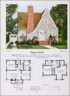 English cottage revival 1920::National Plan Service | Flickr - Photo Sharing!