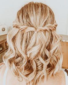 Cute Hairstyles For Teens, Teen Hairstyles, Summer Hairstyles, Pretty Hairstyles, Hair Inspo, Hair Inspiration, Medium Hair Styles, Short Hair Styles, Aesthetic Hair