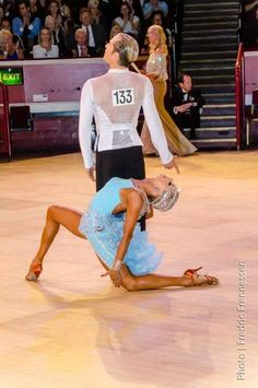 Riccardo and Yulia Paso doble!