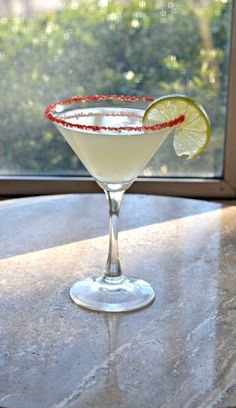 Whip up an easy Cherry Lime Martini for happy hour