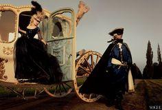 Kirsten Dunst as Marie Antoinette and Jason Schwartzman as Louis XVI for Vogue, Sep 2006, by Annie Leibovitz