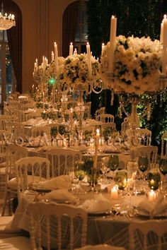 centerpieces. WITHOUT THE CANDLES ON TOP