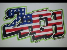 ▶ Step by step how to draw graffiti letters - Zach (Request) - YouTube