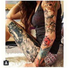 Beautiful animals tattoo!!!
