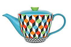 Tea Pots, Ceramics, Retro, Tableware, Design, Teapot, Household, Colors, Ceramica