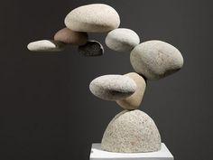 Non-Gravity Stone Sculpture