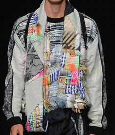 patternprints journal: PRINTS, PATTERNS, TEXTURES AND TEXTILE SURFACES FROM MENSWEAR S/S 2016 COLLECTIONS / LONDON CATWALKS 7