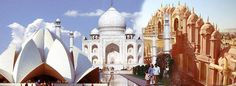 Explore India's Golden Triangle Tour 3 Days from New Delhi,  Agra and discover some of India's most famous attractions, such as the Taj Mahal, Agra Fort, and city of ...