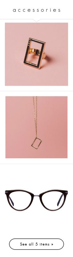 """""""a c c e s s o r i e s"""" by ejajaja ❤ liked on Polyvore featuring jewelry, rings, pink gold jewelry, rose gold rings, rose gold jewelry, rose gold jewellery, pink gold rings, necklaces, chain pendant necklace and chains jewelry"""