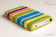 Crocheted pouches, Schachenmayr Catania | Virkatut pussukat, Schachenmayr Catania | Koukuttamo Crochet Pouch, Knit Crochet, Catania, Learning, Knitting, Kids, Pouches, Technology, Cape Clothing