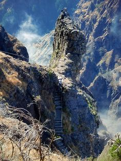Stairways at Pico do Arieiro, Madeira