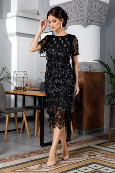 Rochie Bethy Argintie 269 lei Rochie eleganta de seara cu franjuri Lei, Party Dress, Shoulder Dress, Dresses, Fashion, Vestidos, Moda, Tee Dress, Fashion Styles