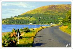 The Road to Loch Ranza by James Bullis-King