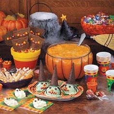 Food Ideas For A Halloween Birthday Party - Food Favors For Halloween Birthday Parties | Bash Corner