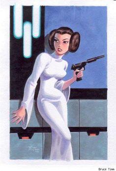 Bruce Timm & Star Wars