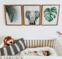 Jungenzimmer, aber auch eine süße, reife Noah-Arche-Party-Idee You are in the right place about baby room decor owls Here we offer you the most beautiful … Boho Nursery, Nursery Neutral, Nursery Room, Girl Nursery, Kids Bedroom, Nursery Decor, Safari Nursery, Animal Theme Nursery, Animal Decor